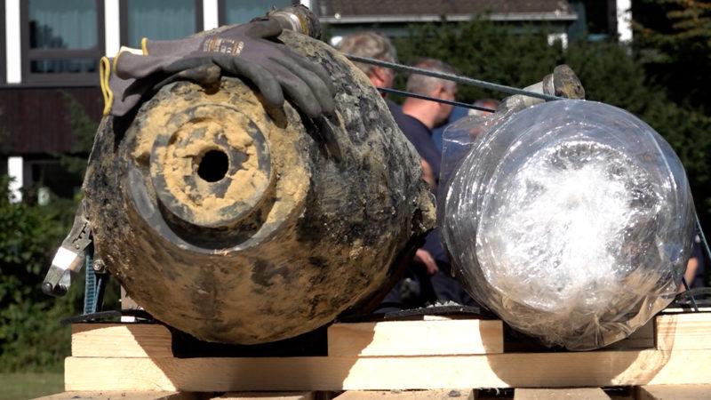 Mega Bombe in Essen (Foto: SAT.1 NRW)